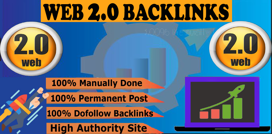 Create Manually 10 High Quality Web 2.0 Backlink