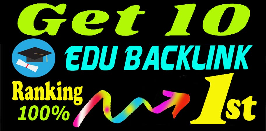 Build Manually 10 Edu Backlinks on High DA Site