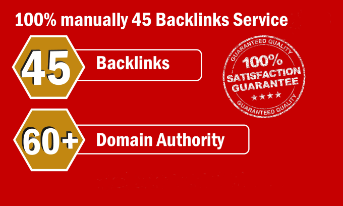 Create 45 High DA Backlink With 10 EDU/GOV Link For Rank Up Your Site On Google