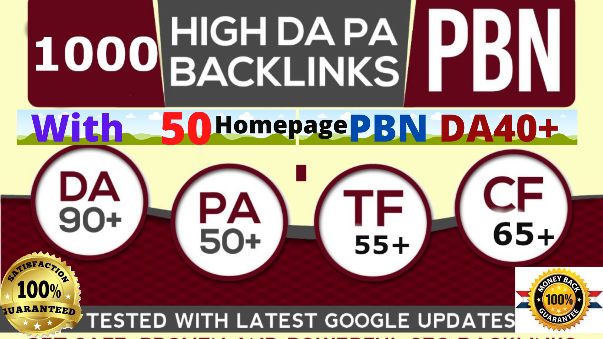 2 buy 1 Free high DA90+1000+ With 50 Homepage PBNs DA40+ Backlinks