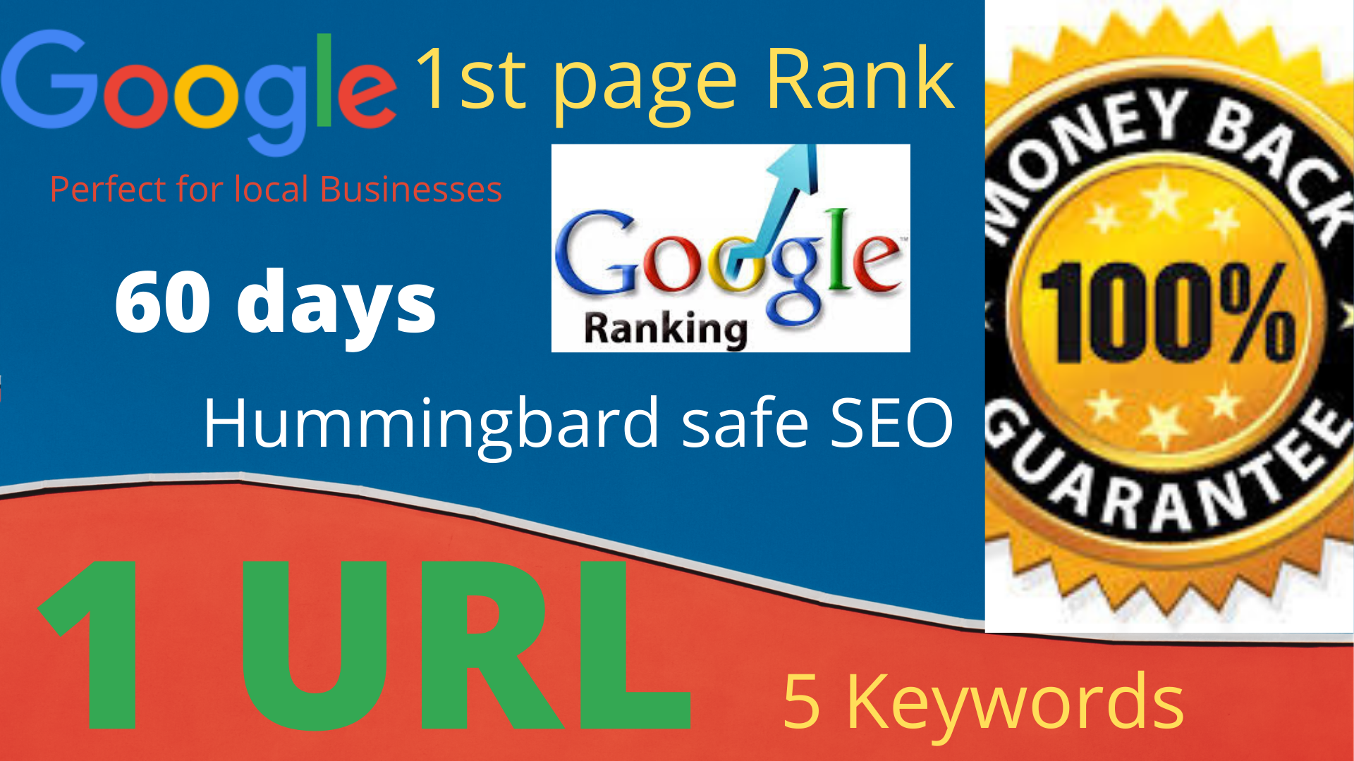 I will complete 2 month 0ff page SEO service for Rank Your website on 1st Page of Google