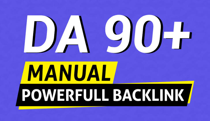 provide. high authority 400 DA 90-50+and 40 Edu Gov exclusive Backlinks fast ranking