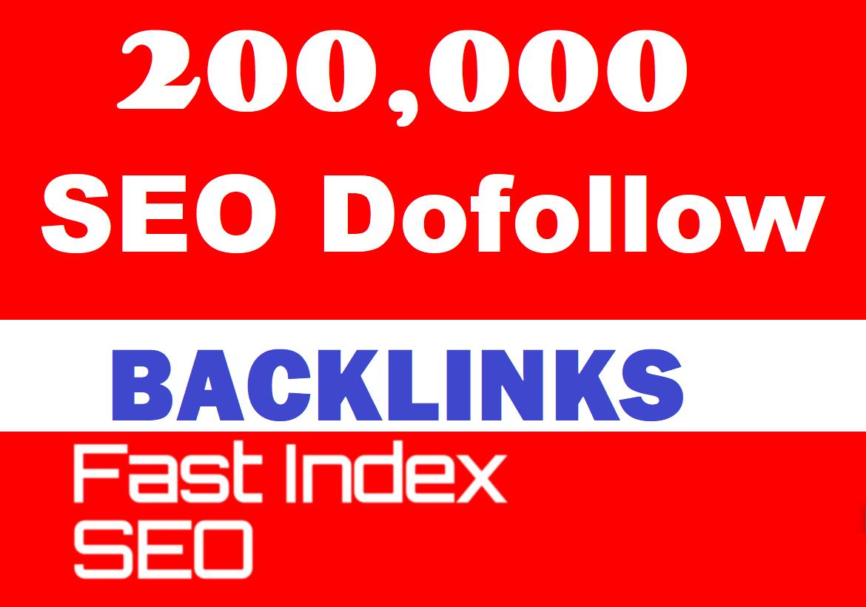 200,000 Blast SEO backlinks to rank your website