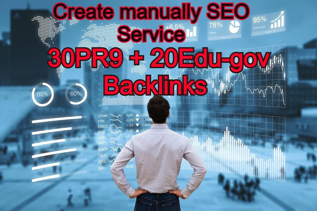 30 PR9 DA 70 + 20 EDU/GOV Safe SEO High Pr From Authority Domain