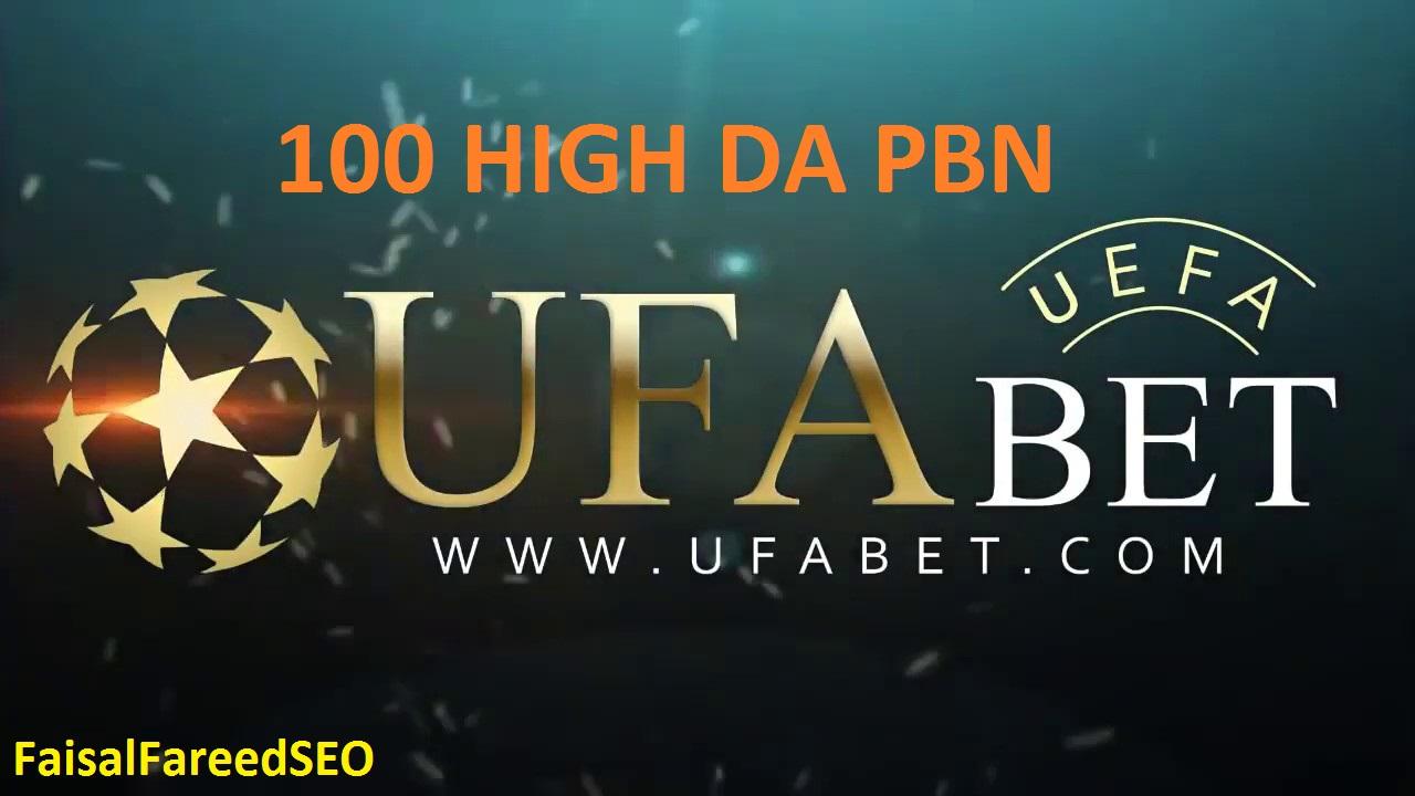 Get 100 DA 50+ pbn backlinks UFABET,Casino,Gambling,Poker,Judi Related Sites.