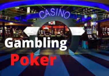 Get 30 permanent high DA 55+pbn backlinks Casino gambling poker Judi related sites.