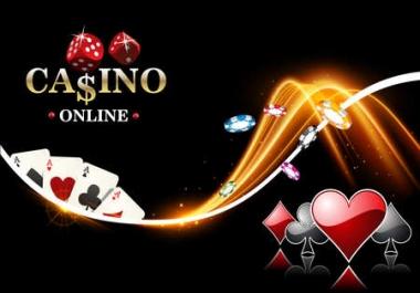 Get 50 DA 40-30+ High Quality Casino/Gambling/Poker Related Powerful PBN Seo Backlinks