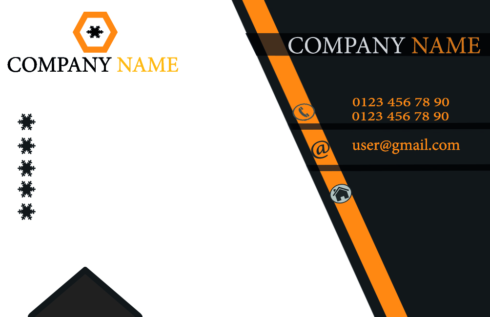 Excellent, modern and premium business card