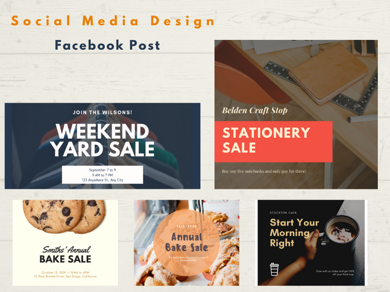 I will design social media posts,  ads using canva
