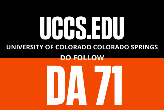 Strong edu guest post from University of Colorado- UCCS. edu
