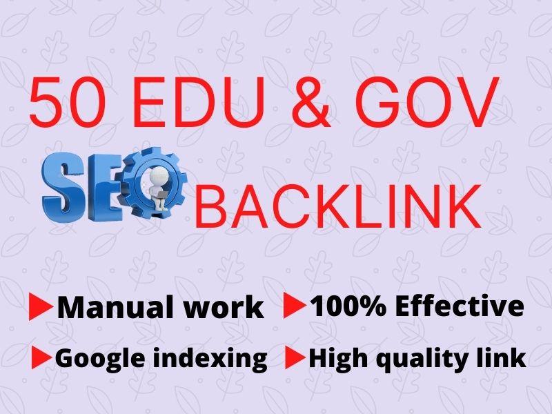 I will create 20 Edu gov high authority SEO link building backlink