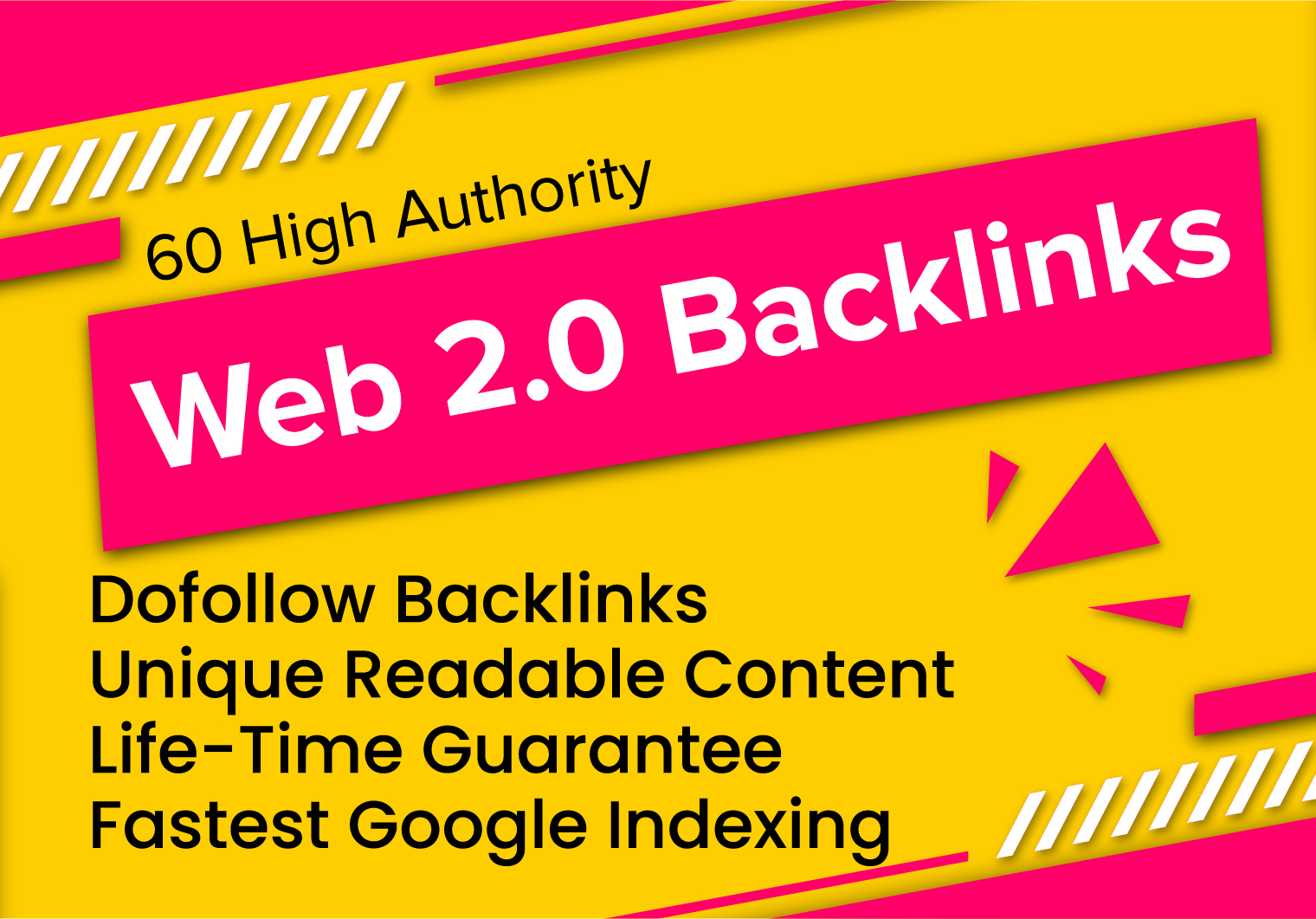 i will setup 15 web 2 0 backlinks with unique contextual links