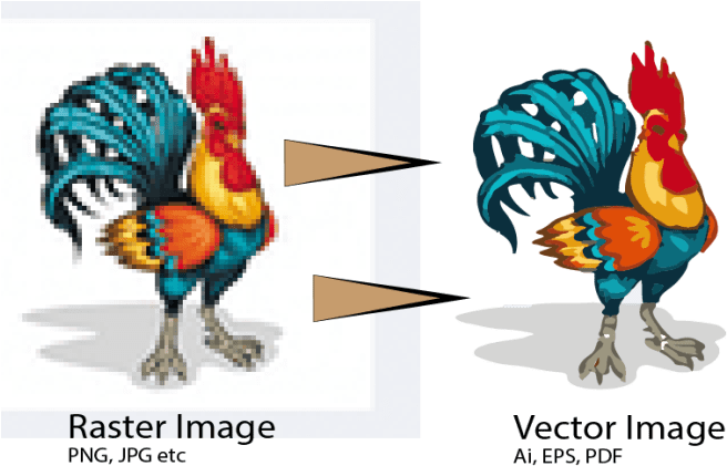 I am a professional vector tracer in the market I will trace your damaged pixel image into vector