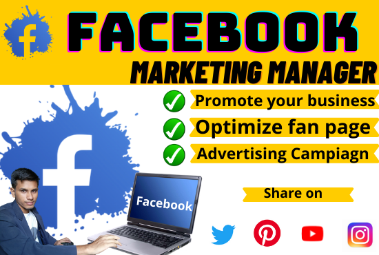 design and develop your facebook business page