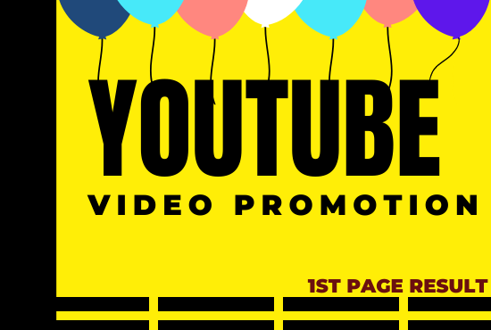 youtube video promotion manager