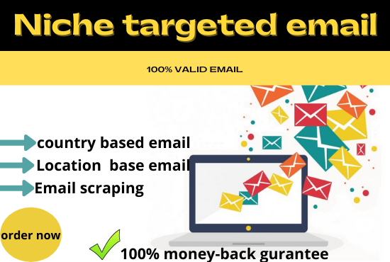 provide you targeted niche base verified email list