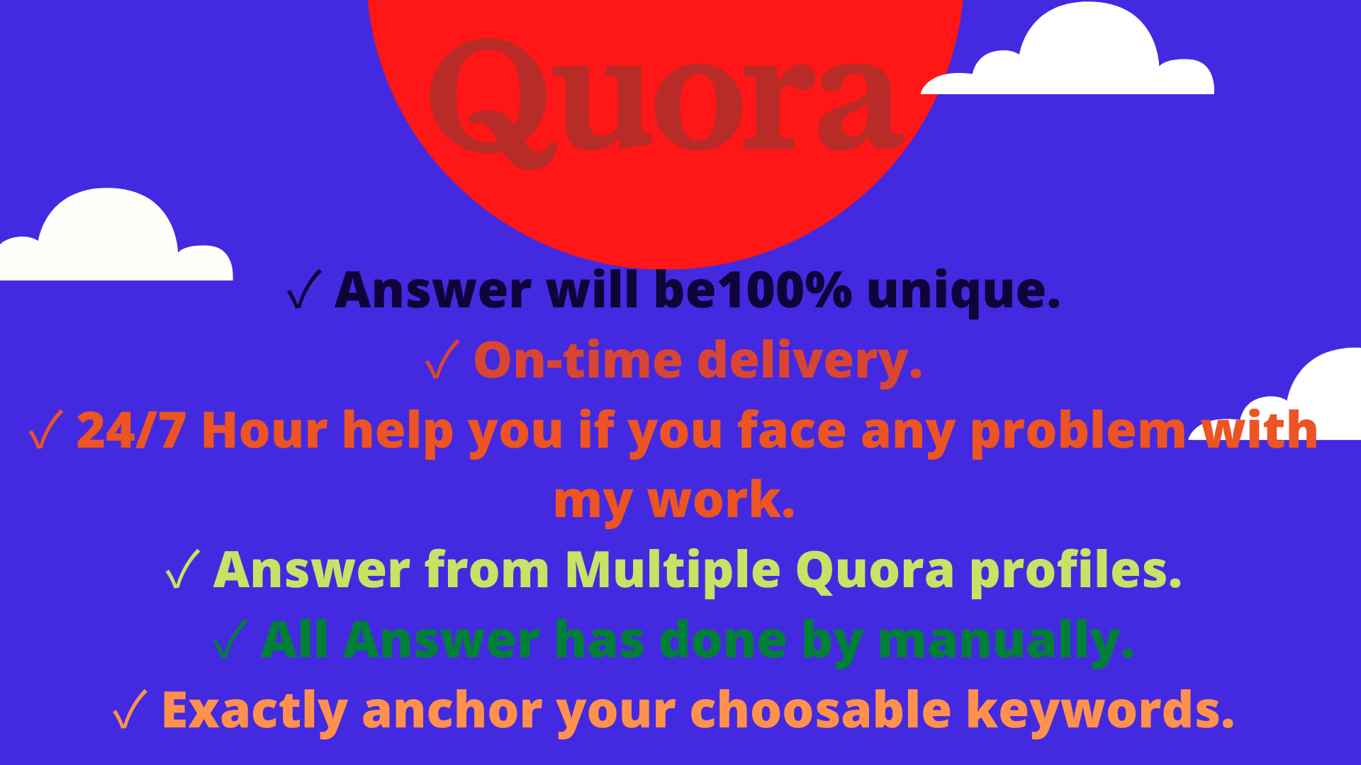 Guaranteed Traffic To Your Website With 10 High Quality Quora Answers