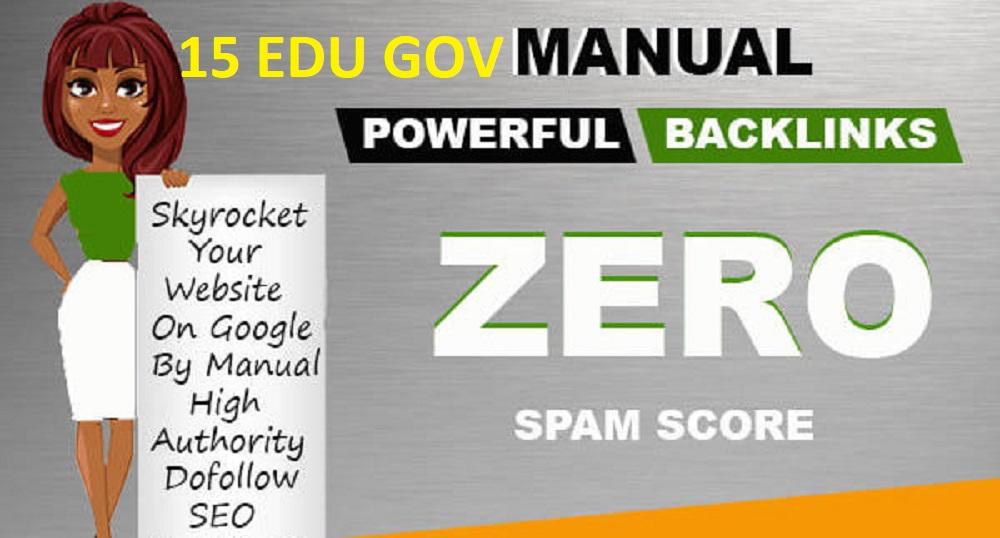 boost your website,  10 keyword target powerful edu gov backlinks