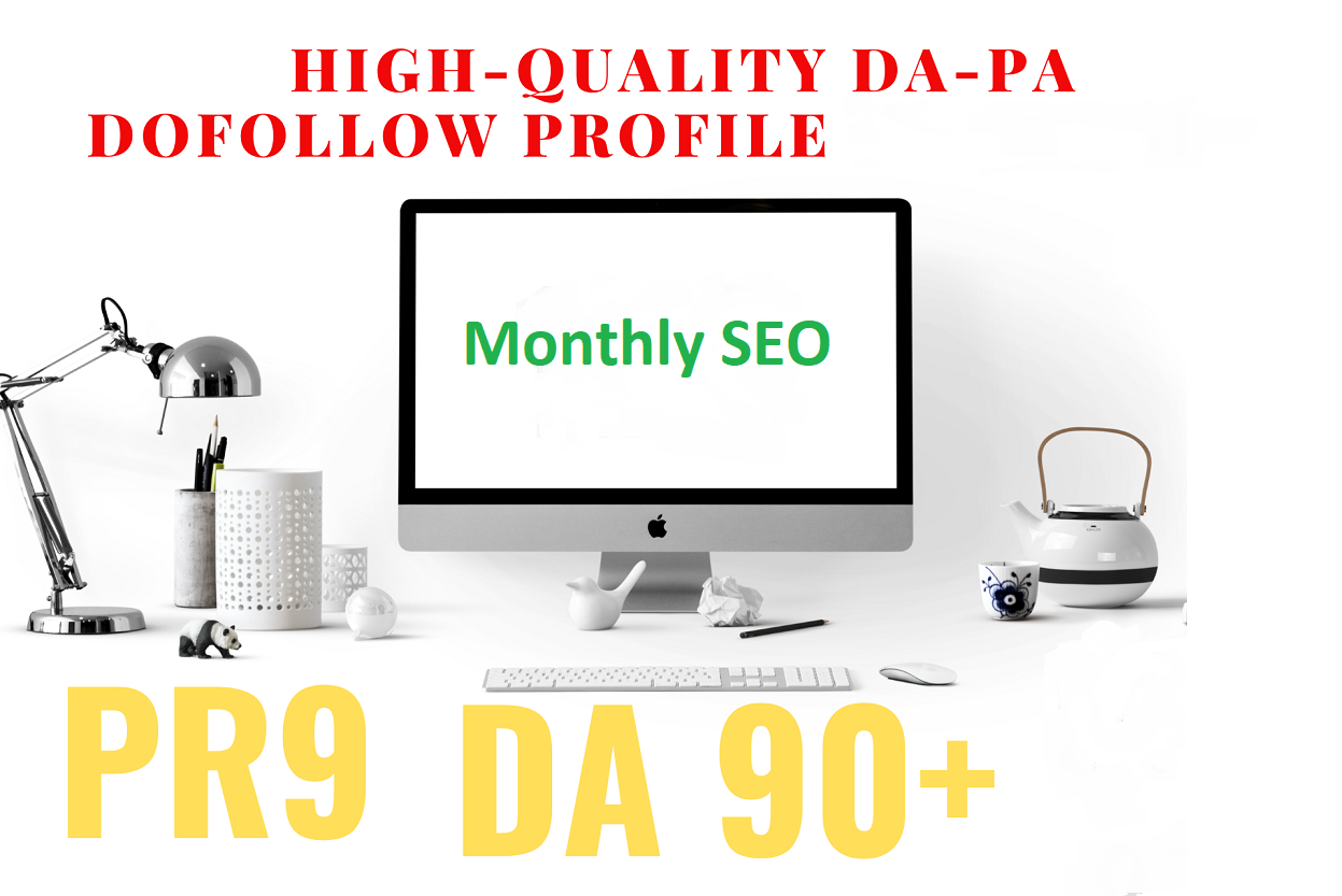All In One monthly full SEO drip feed service,  backlinks for google top ranking