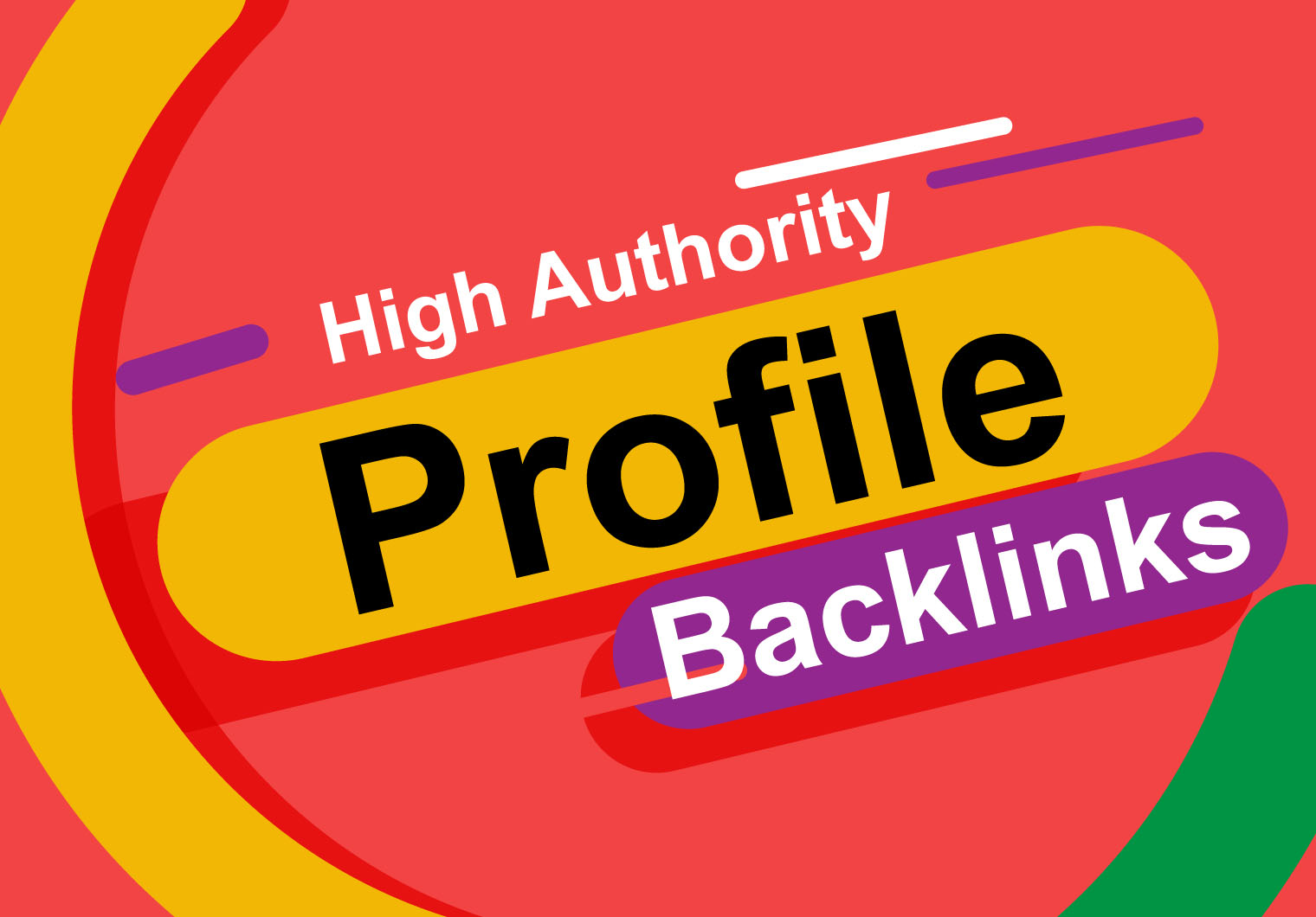I will build 200 safe and permanent high authority Profile Creation Backlinks