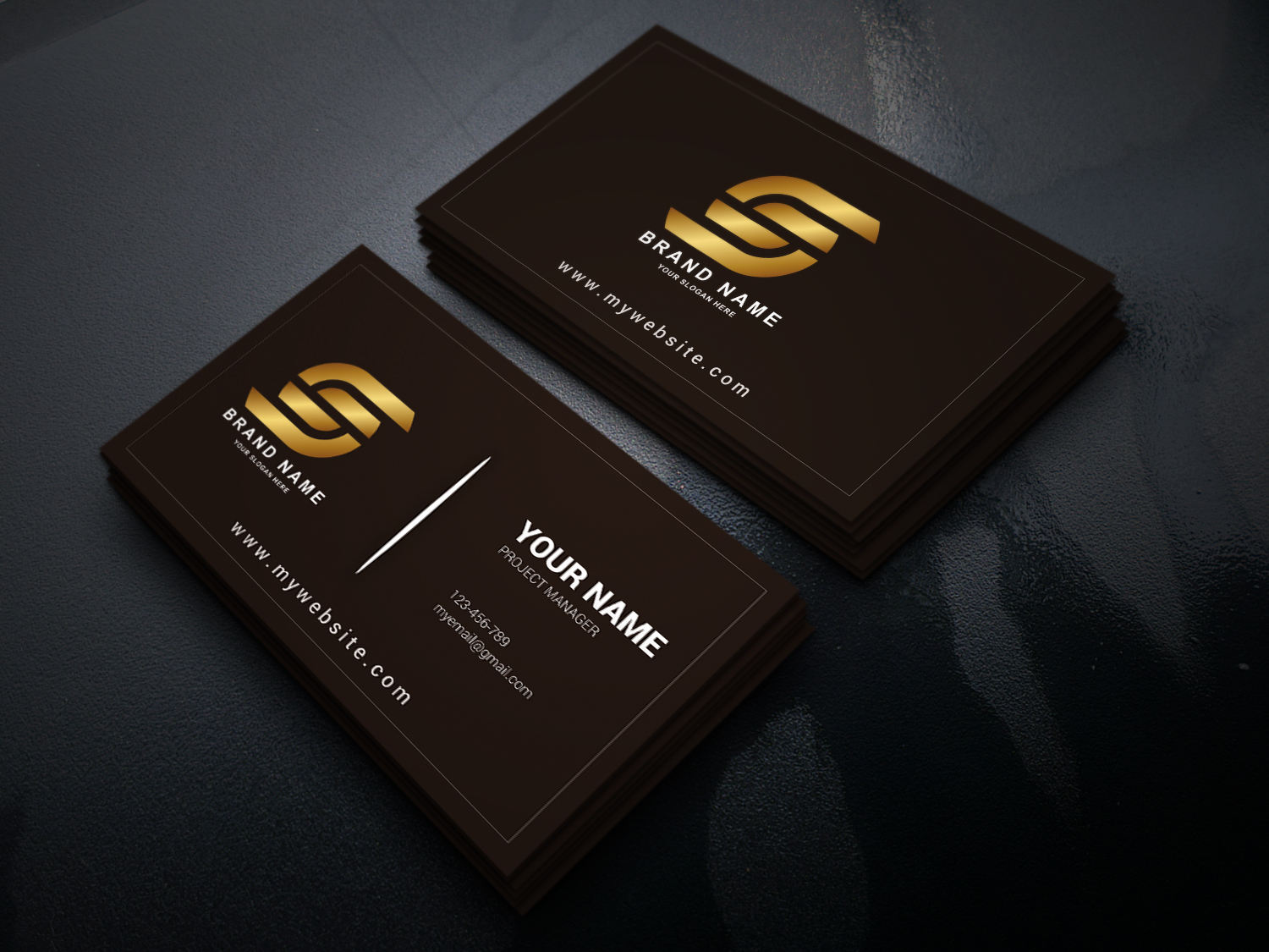 I will design professional and amazing business card for you