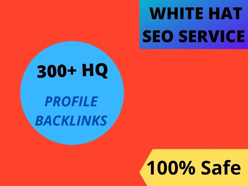 I will do 100 HQ profile backlinks do follow