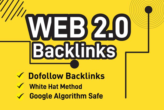 I will build 10 high authority web 2.0 backlinks