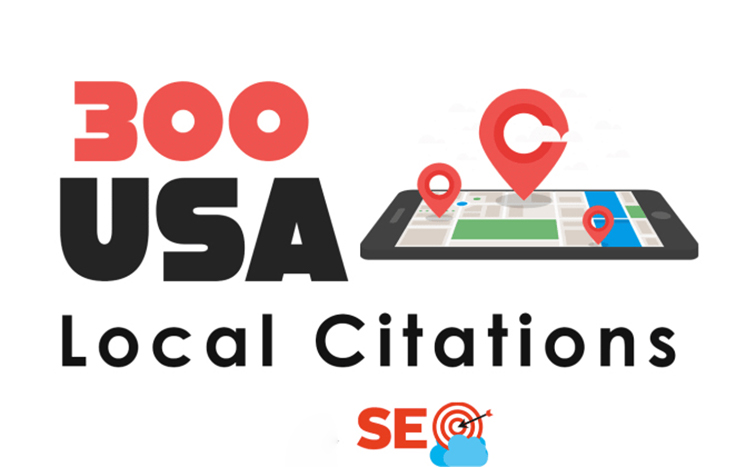 I will do 300 USA local citations and business directories listings