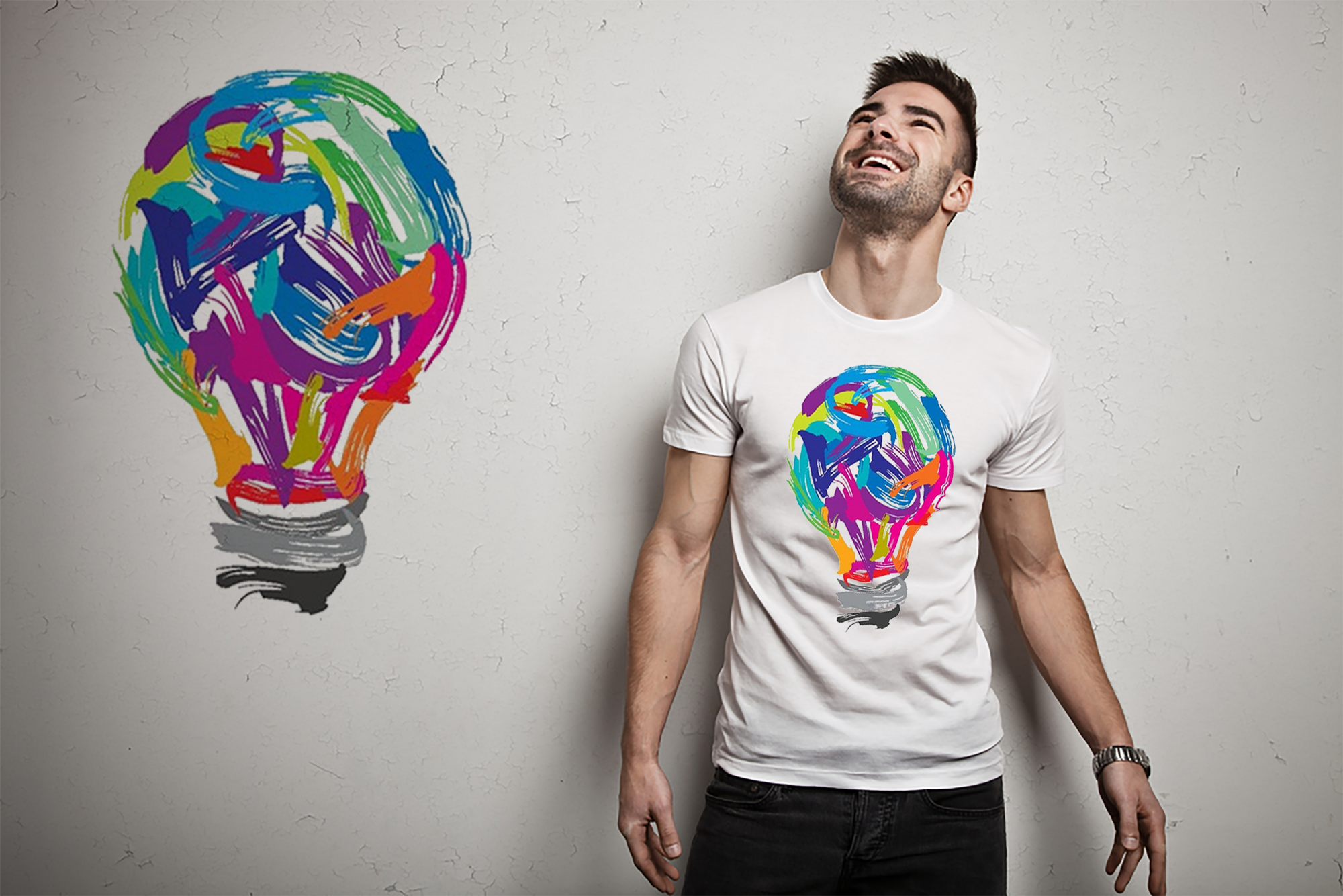I will design your t shirt according your design