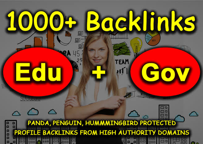 Get 1000+ EDU and GOV high authority backlinks for $5