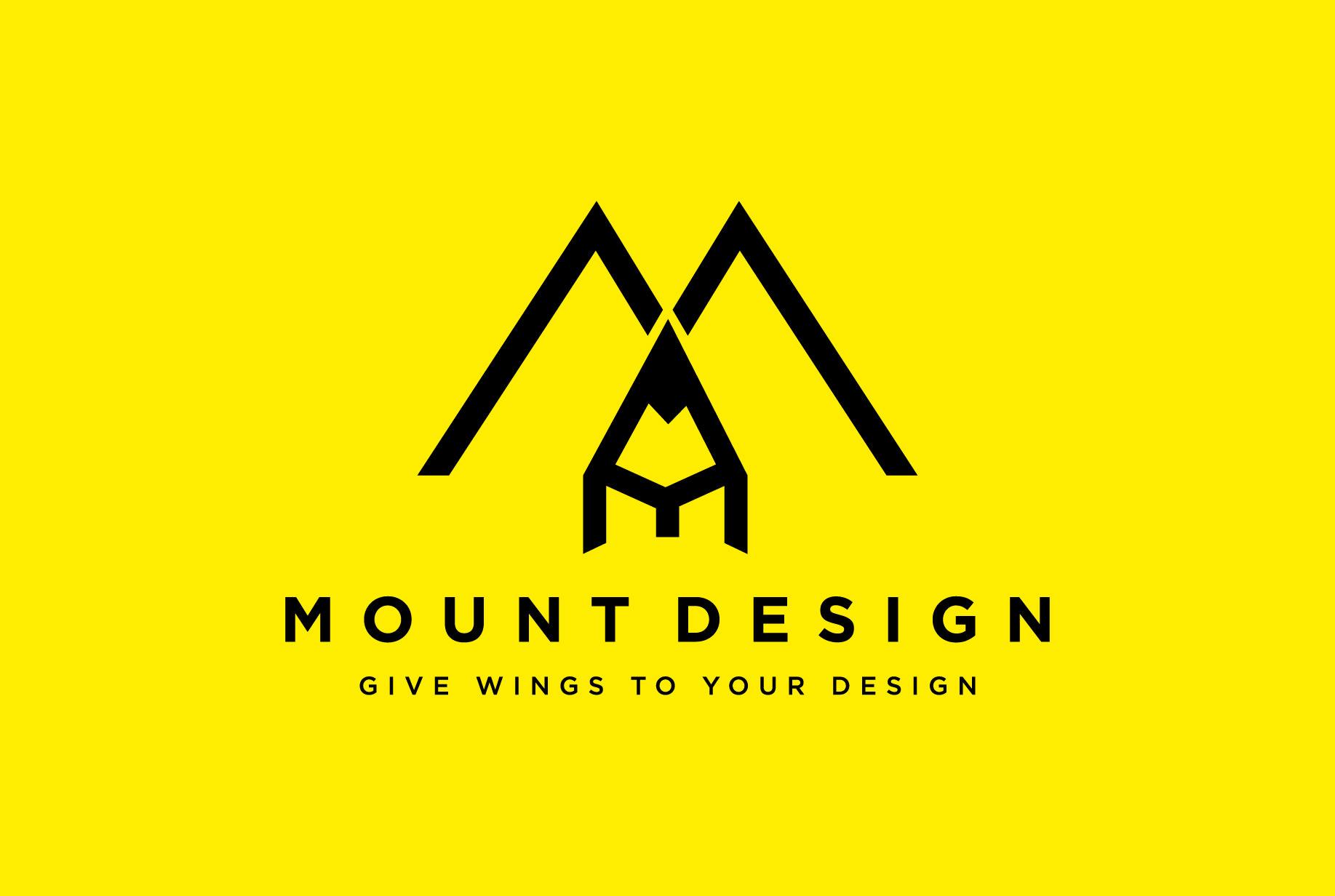 I will create a flat minimalist logo design