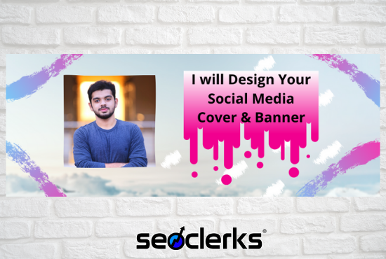I will Design Your Social Media Poster,  Banner,  Cover And Ads