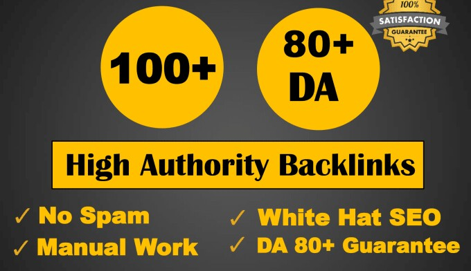 DA92 100+ Backlinks from High Domains -Skyrocket your Google RANKINGS NOW