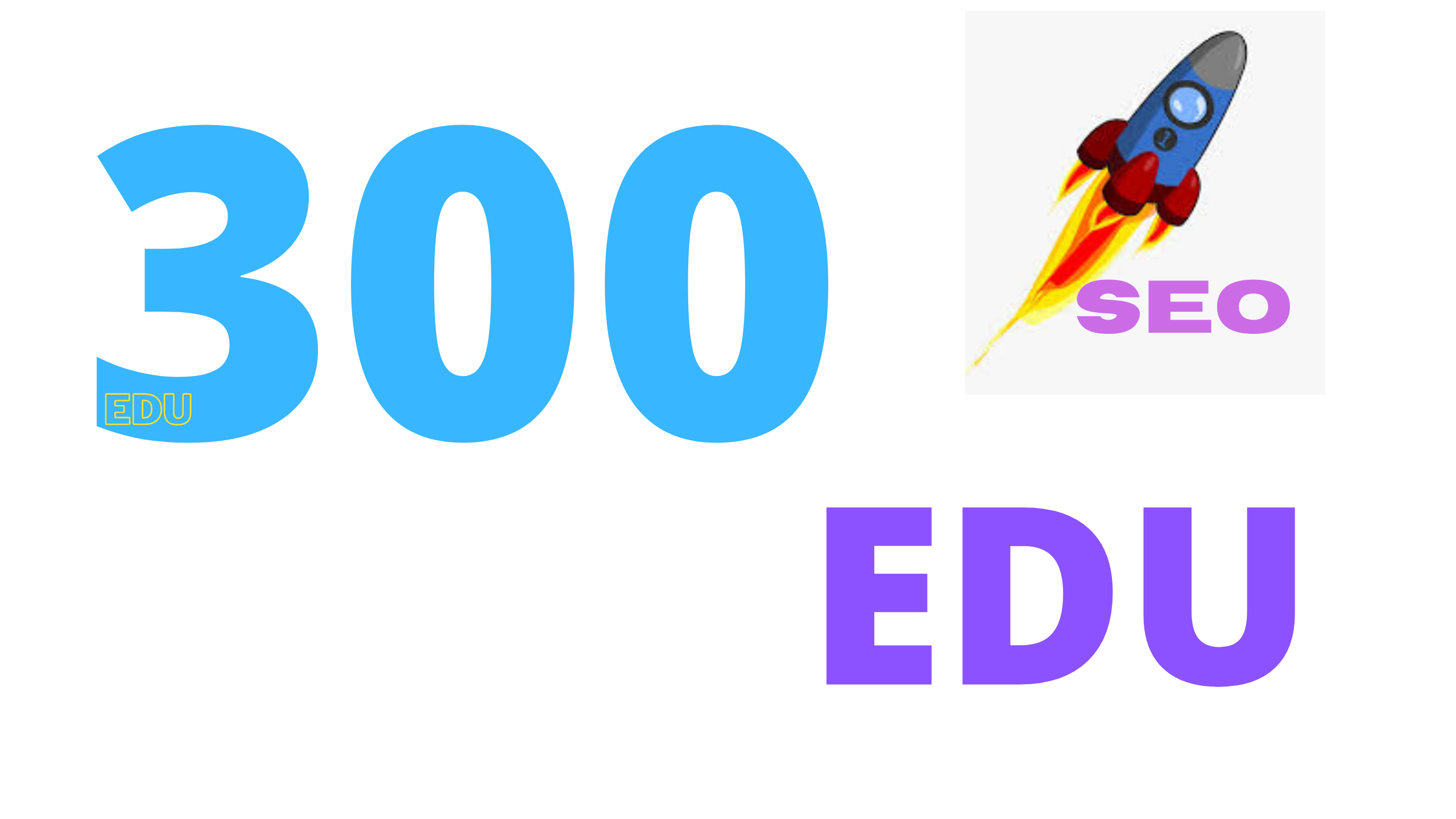 limited time offer 300 EDU backlinks for your website