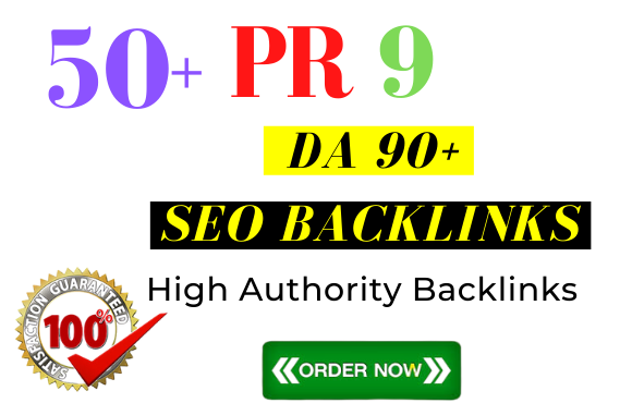 I will do 50 high domain authority dofollow profile backlinks link building