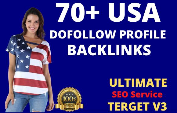 I will manually 70 USA backlinks SEO service link building
