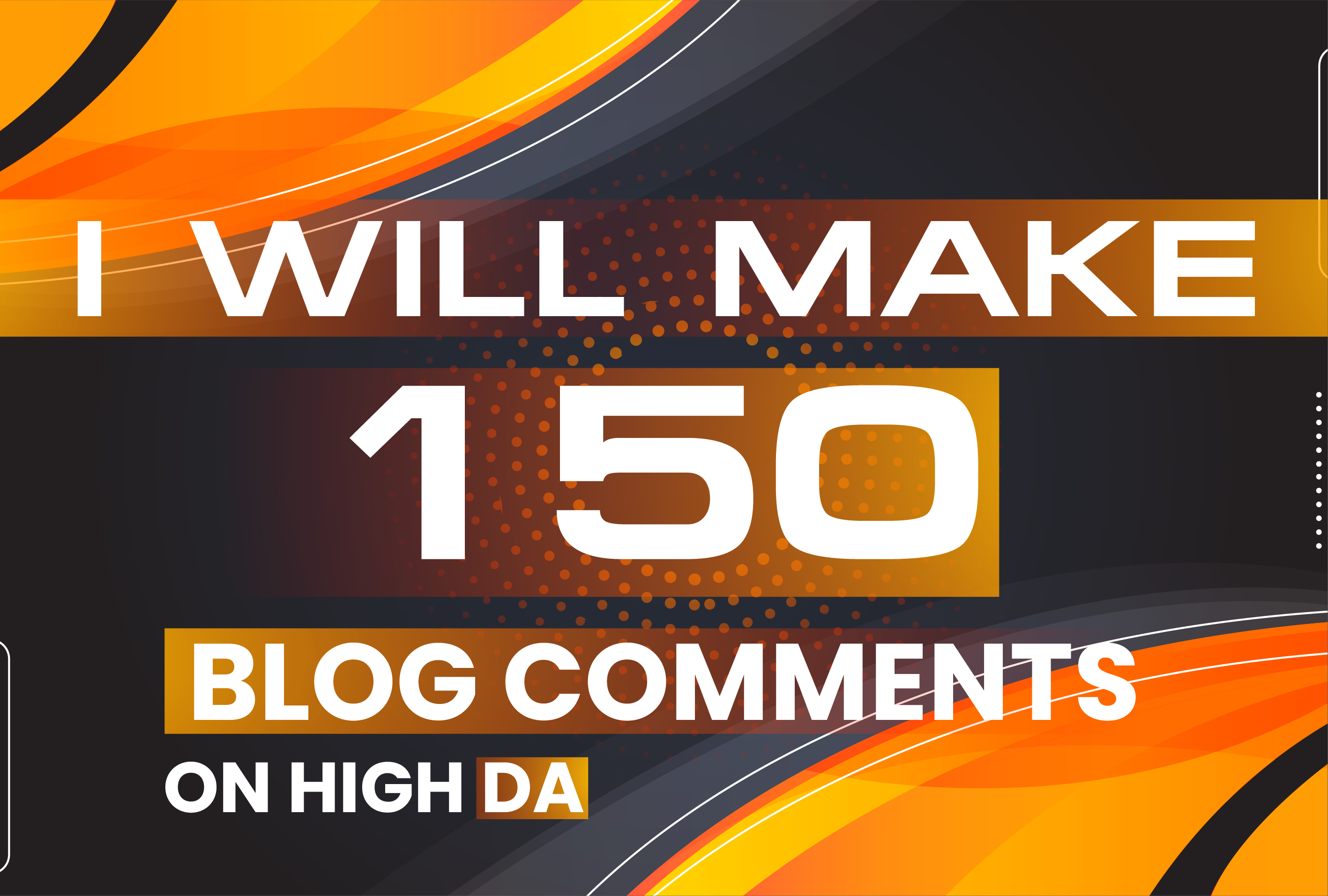 150 Manually Unique Domain Dofollow Blog comments Backlinks on High DA PA