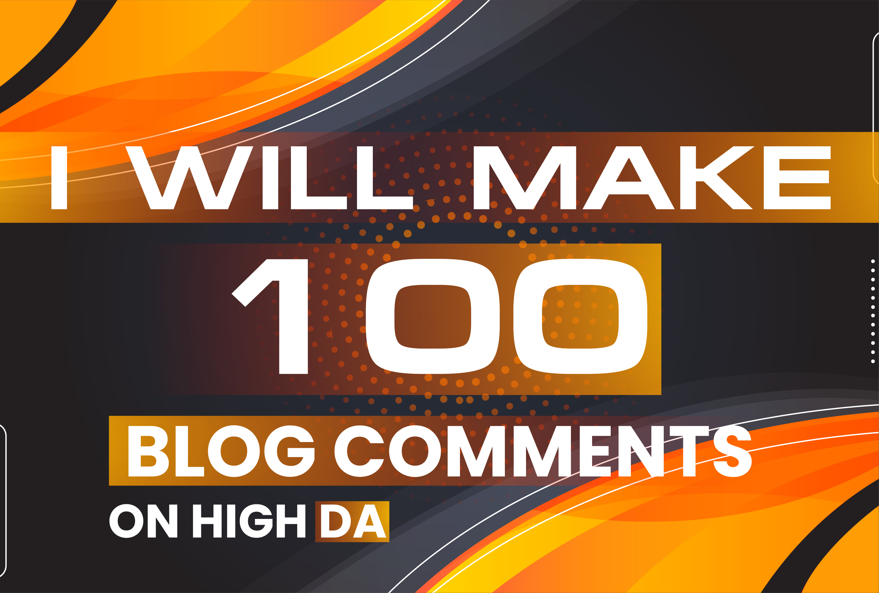 100 Manually Unique Domain Dofollow Blog comments Backlinks on High DA PA