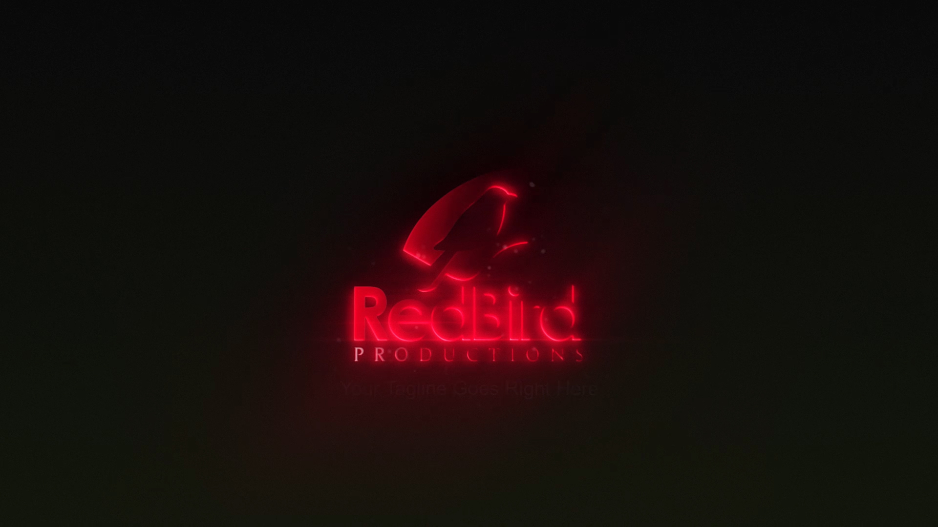 I Will Do Neon light Logo Animation Intro