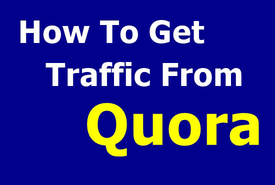 Guaranteed Traffic by 30 High-Quality Quora Answers.