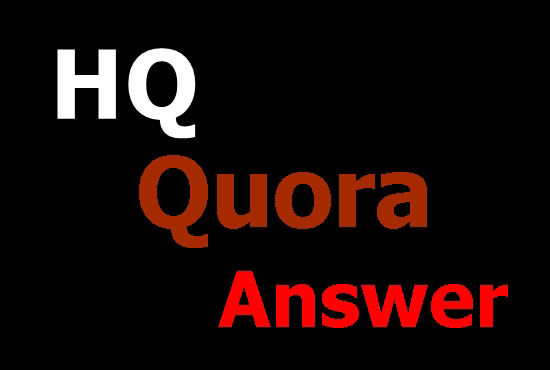 Offer 40 Quora answer for guaranteed targeted traffic