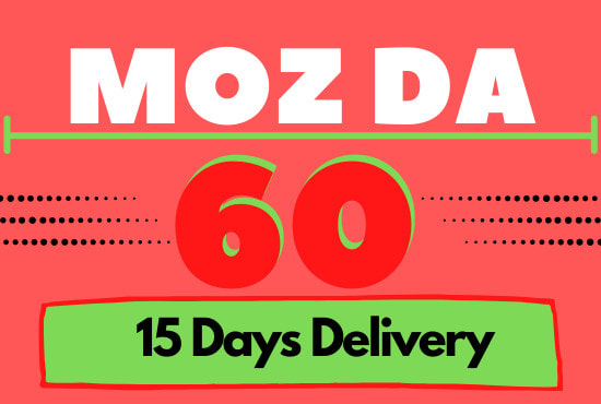 I will increase moz domain authority da 50 plus in 25 days