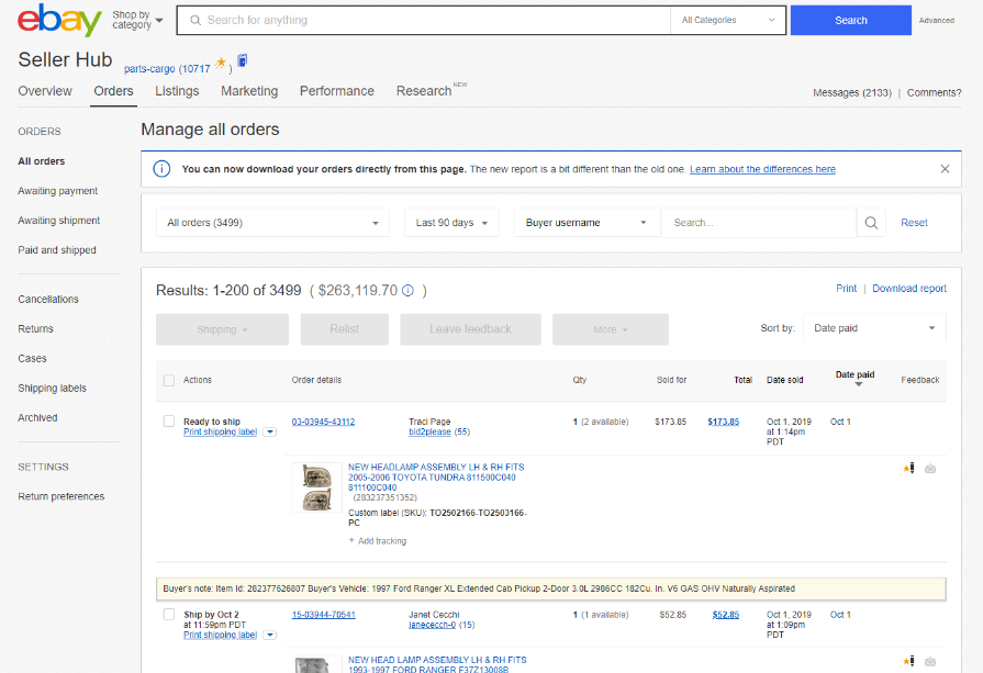 15 listing product ebay or amazon and dropship from the source