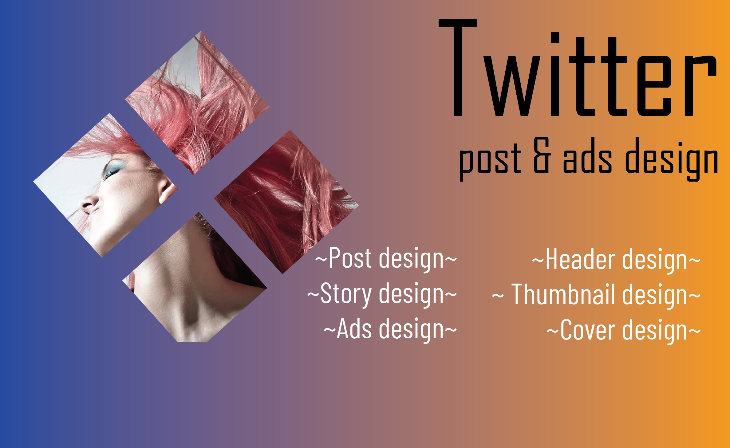 I Will Create Some Gracious Twitter Post And Ads Design