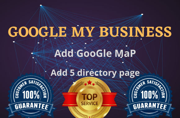 I will do GMB with 5 directory page listing
