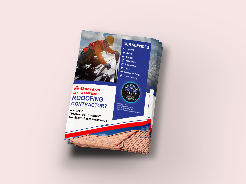 I will do professional business flyer designer