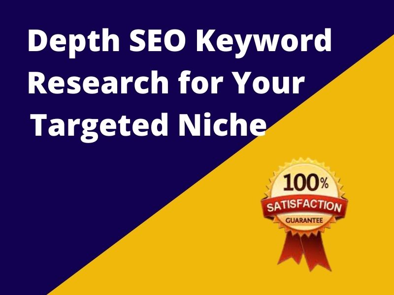 I will do in 100 depth SEO keyword research, competitor analysis, audit, report
