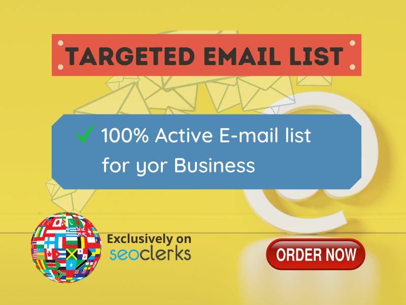 5k USA Email list for email marketing
