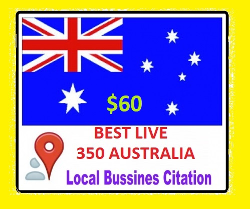 Get Accurate Live Best 30 Australia local citation or local SEO for your website