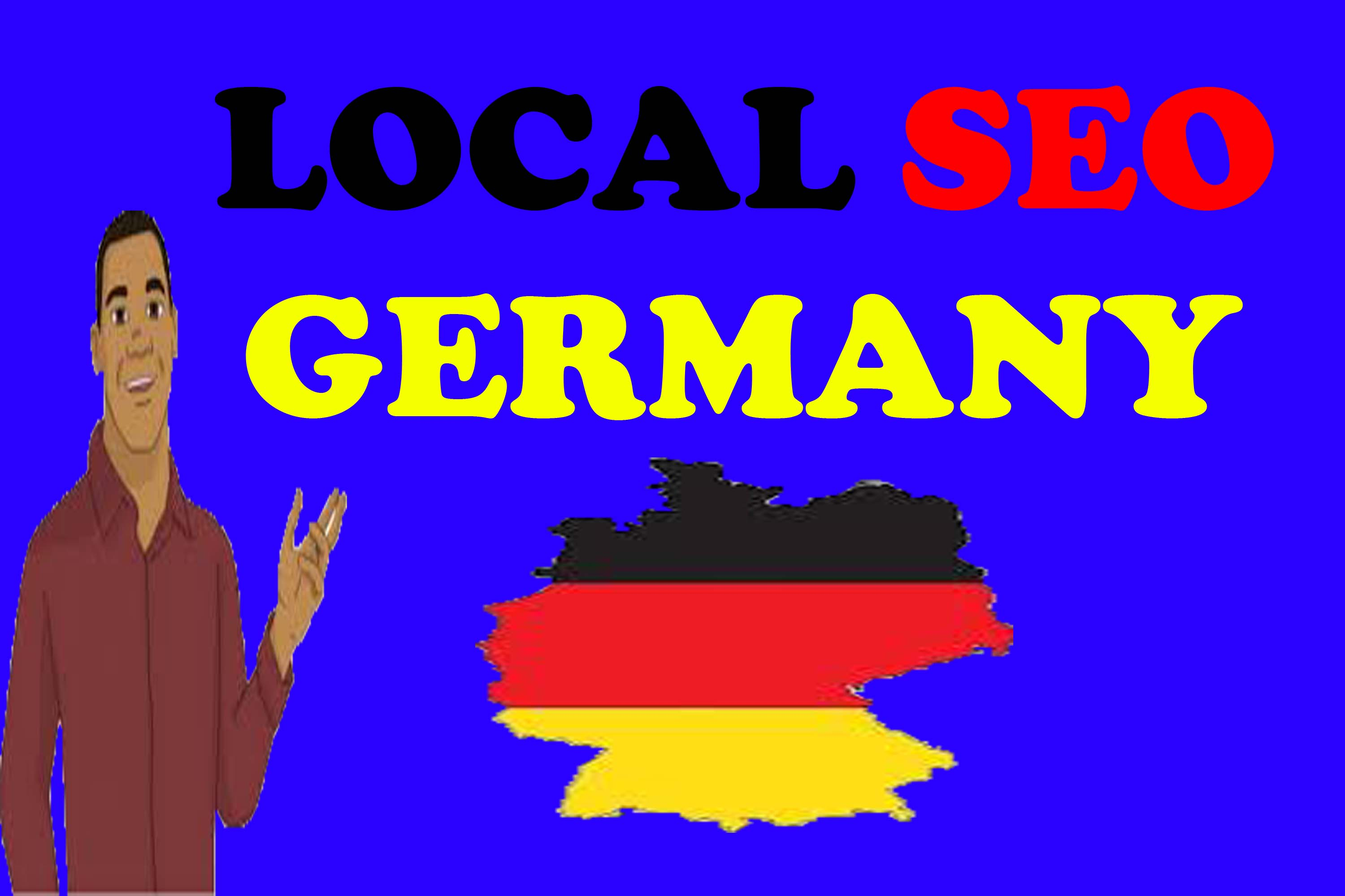 I will provide 100 top German local citations or local SEO business map listing for your site